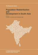 Population Redistribution and Development in South Asia