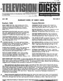 Television Digest  with Consumer Electronics