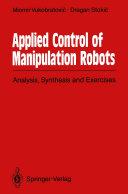 Applied Control of Manipulation Robots [Pdf/ePub] eBook