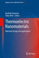 Pdf Thermoelectric Nanomaterials