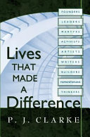 Pdf Lives That Made a Difference Telecharger