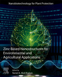 Zinc Based Nanostructures for Environmental and Agricultural Applications