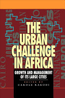 The Urban Challenge in Africa