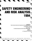 Safety Engineering and Risk Analysis