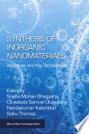 Synthesis of Inorganic Nanomaterials Book