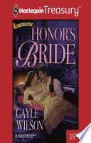 Honor S Bride