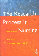 The Research Process In Nursing Fourth Edition