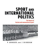Sport and International Politics