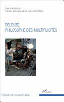 Pdf Deleuze, philosophe des multiplicités Telecharger