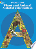 Plant and Animal Alphabet Coloring Book Book PDF