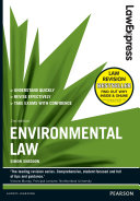 Law Express  Environmental Law 2nd edn