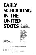 Early Schooling in the United States