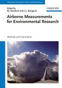 Airborne Measurements for Environmental Research [Pdf/ePub] eBook