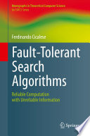 Fault-Tolerant Search Algorithms