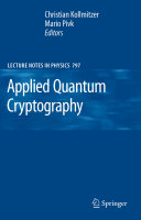 Applied Quantum Cryptography ebook