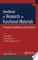 Handbook Of Research On Functional Materials Book PDF