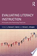 Evaluating Literacy Instruction