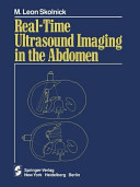 Real time Ultrasound Imaging in the Abdomen Book