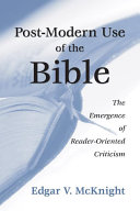Postmodern Use of the Bible