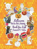 Halloween Dot to Dot Activity Book for Kids Connect   Color