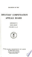Decisions of the Employees  Compensation Appeals Board