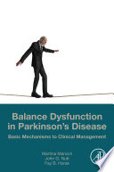 Balance Dysfunction in Parkinson's Disease