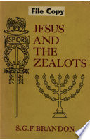 Jesus and the Zealots Book PDF