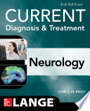 CURRENT Diagnosis   Treatment Neurology  Third Edition Book