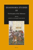 Shahnama Studies III