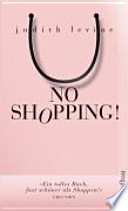 No Shopping!