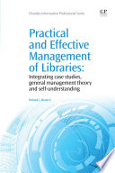 Practical And Effective Management Of Libraries Book PDF