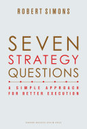 Pdf Seven Strategy Questions Telecharger