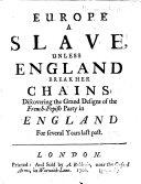 Europe a Slave, Unless England Break Her Chains ebook