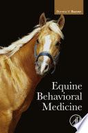 Equine Behavioral Medicine Book