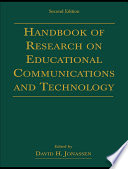 Handbook of Research on Educational Communications and Technology Book