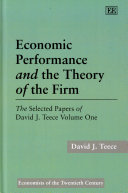 Pdf Economic Performance and the Theory of the Firm
