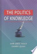 The Politics of Knowledge Book