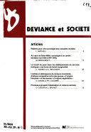 Déviance et société