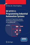 IEC 61131 3  Programming Industrial Automation Systems Book
