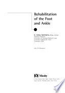Rehabilitation of the Foot and Ankle