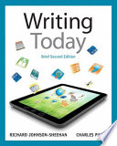 Instructor's Review Copy for Writing Today - Brief Edition