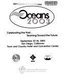 Oceans 2003 Book