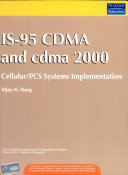 IS 95 CDMA and Cdma2000  Cellular PCS Systems Implementation
