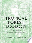 Tropical Forest Ecology Book