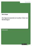 Die Zigeunermotivik in Goethes 'Götz von Berlichingen'