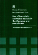 Pdf Use of hand-held electronic devices in the Chamber and committees