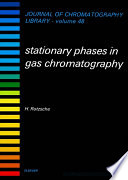 Stationary Phases In Gas Chromatography Book PDF