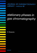 Stationary Phases in Gas Chromatography
