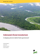 Indonesia   s forest moratorium  A stepping stone to better forest governance