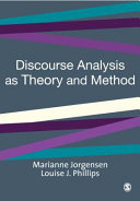 Pdf Discourse Analysis as Theory and Method Telecharger
